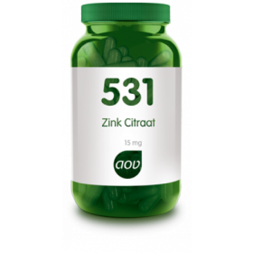 Zink Citraat (15 mg)-60 VegCaps - 531