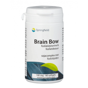 Brain Bow PAS-complex fosfatidylserine 100mg - 60 softgels