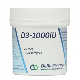 D3-1000IU (25 mcg) - 120 Softgels