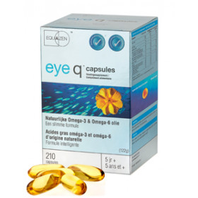 Eye Q Omega 3/6 vetzuren 500 mg - 60 softgels