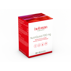 NutriQuinol 100mg 90 softgels + 15 gratis